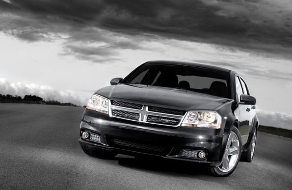 2011 Dodge Avenger, Front quarter view. , exterior, manufacturer