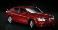 2011 Dodge Avenger, Front three quarter view. , exterior, manufacturer