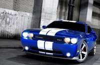 2011 Dodge Challenger, Front three quarter view. , exterior, manufacturer