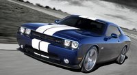 2011 Dodge Challenger, Front three quarter view in motion. , exterior, manufacturer