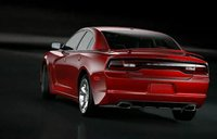 2011 Dodge Charger, BAck three quarter view. , exterior, manufacturer