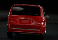 2011 Dodge Grand Caravan, Back View. , exterior, manufacturer