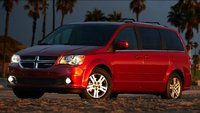 2011 Dodge Grand Caravan, Front Side view. , exterior, manufacturer