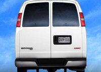 2011 GMC Savana Cargo, Back View. , exterior, manufacturer