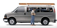2011 GMC Savana Cargo, Side View with storage compartments. , exterior, manufacturer