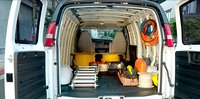 2011 GMC Savana Cargo, Trunk Space. , interior, manufacturer