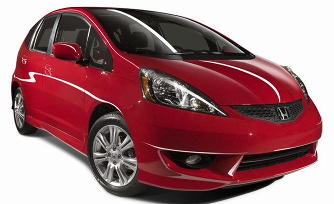 2011 Honda Fit, Front three quarter view. , manufacturer, exterior
