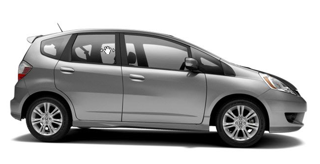 2011 Honda Fit, Side View., manufacturer, exterior