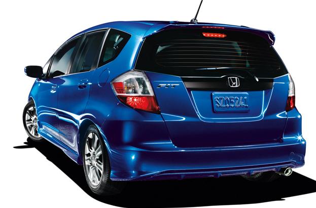 2011 Honda Fit, Back View. , exterior, manufacturer