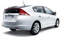 2011 Honda Insight, Back quarter view. , exterior, manufacturer