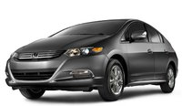 2011 Honda Insight, Three quarter view. , exterior, manufacturer