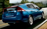 2011 Honda Insight, Back View. , exterior, manufacturer
