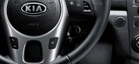 2011 Kia Forte, Close-up of Steering Wheel. , interior, manufacturer