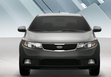 2011 Kia Forte, Front View. , exterior, manufacturer