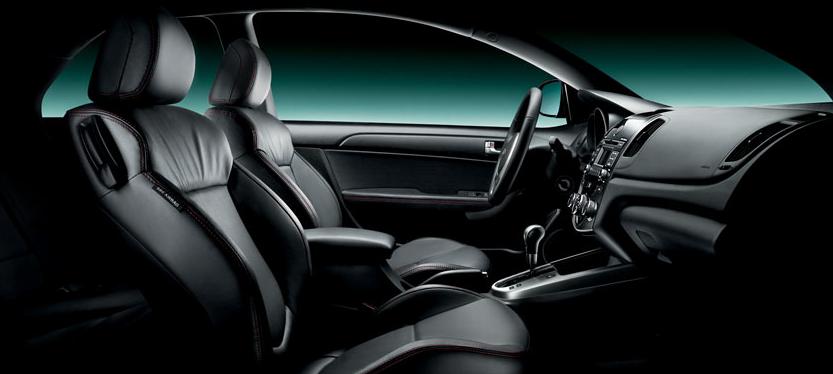 2011 Kia Forte Koup, Front Seat. , interior, manufacturer