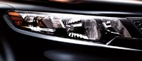 2011 Kia Forte Koup, Close-up of headlight. , exterior, manufacturer