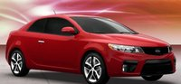 2011 Kia Forte Koup, Front three quarter view. , manufacturer, exterior