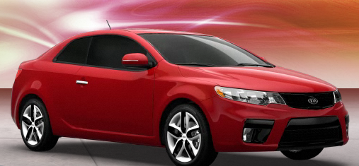 2011 Kia Forte Koup, Front three quarter view. , exterior, manufacturer