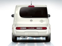 2011 Nissan Cube, Back View. , exterior, manufacturer