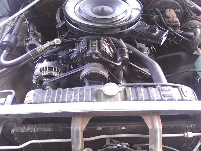 Picture of 1972 Plymouth Fury, engine