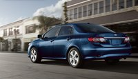 2011 Toyota Corolla, Back quarter view. , exterior, manufacturer