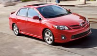 2011 Toyota Corolla, Front View. , exterior, manufacturer