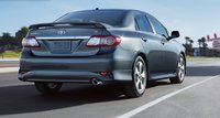 2011 Toyota Corolla, Back View. , exterior, manufacturer