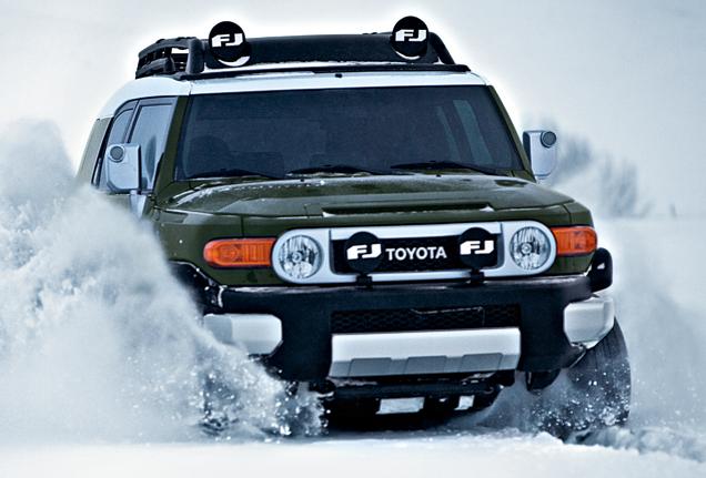 2011 Toyota FJ Cruiser, Front View. , exterior, manufacturer