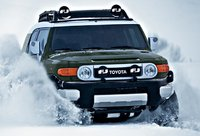2011 Toyota FJ Cruiser, Front View. , exterior, manufacturer