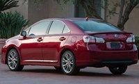 2011 Lexus HS 250h, Back quarter view. , exterior, manufacturer