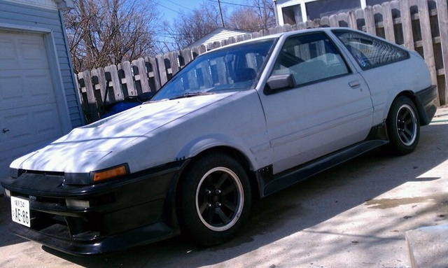 1984 Toyota Corolla SR5 Coupe, Finally together, exterior