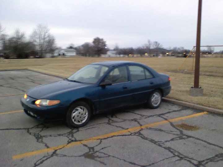 My newest car '99 Mercury Tracer