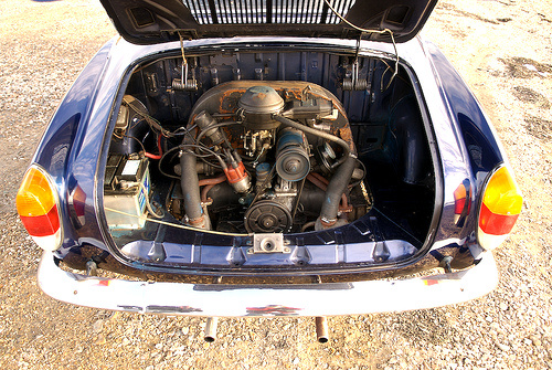 Volkswagen Karmann Ghia Questions - Single or dual port engine