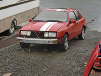 1987 Merkur XR4Ti Picture Gallery