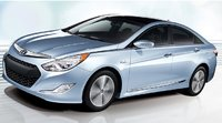 2011 Hyundai Sonata Hybrid, Left Side View, exterior, manufacturer