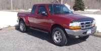 2000 Ford Ranger XLT Extended Cab Stepside 4WD SB, sharp truck!, exterior, gallery_worthy