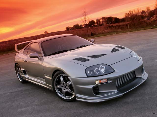 Toyota Supra. The 1998 Supra has many fans,