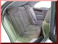 2001 Nissan Cedric, rear interior, interior