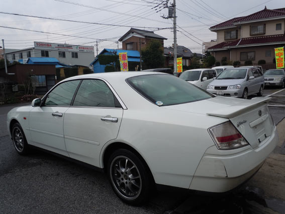 rear exterior