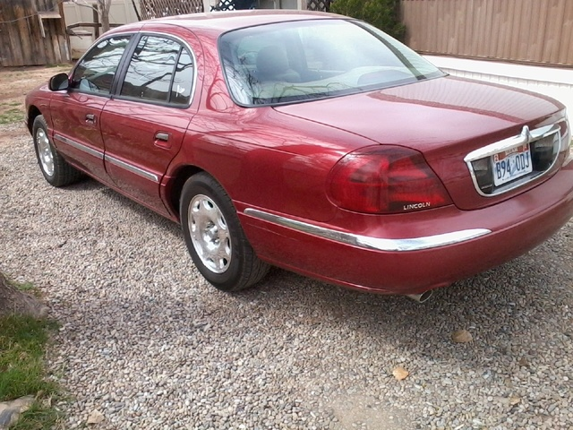 Picture of 1999 Lincoln Continental 4 Dr STD Sedan, exterior