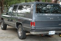 1990 Chevrolet Suburban V1500 4WD, Picture of 1990 Chevrolet Suburban 4 Dr V1500 4WD SUV, exterior