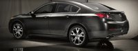 2012 Acura TL, Back quarter view. , exterior, manufacturer