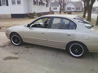 2003 Hyundai Elantra GT Sedan FWD, New rims!, exterior, gallery_worthy