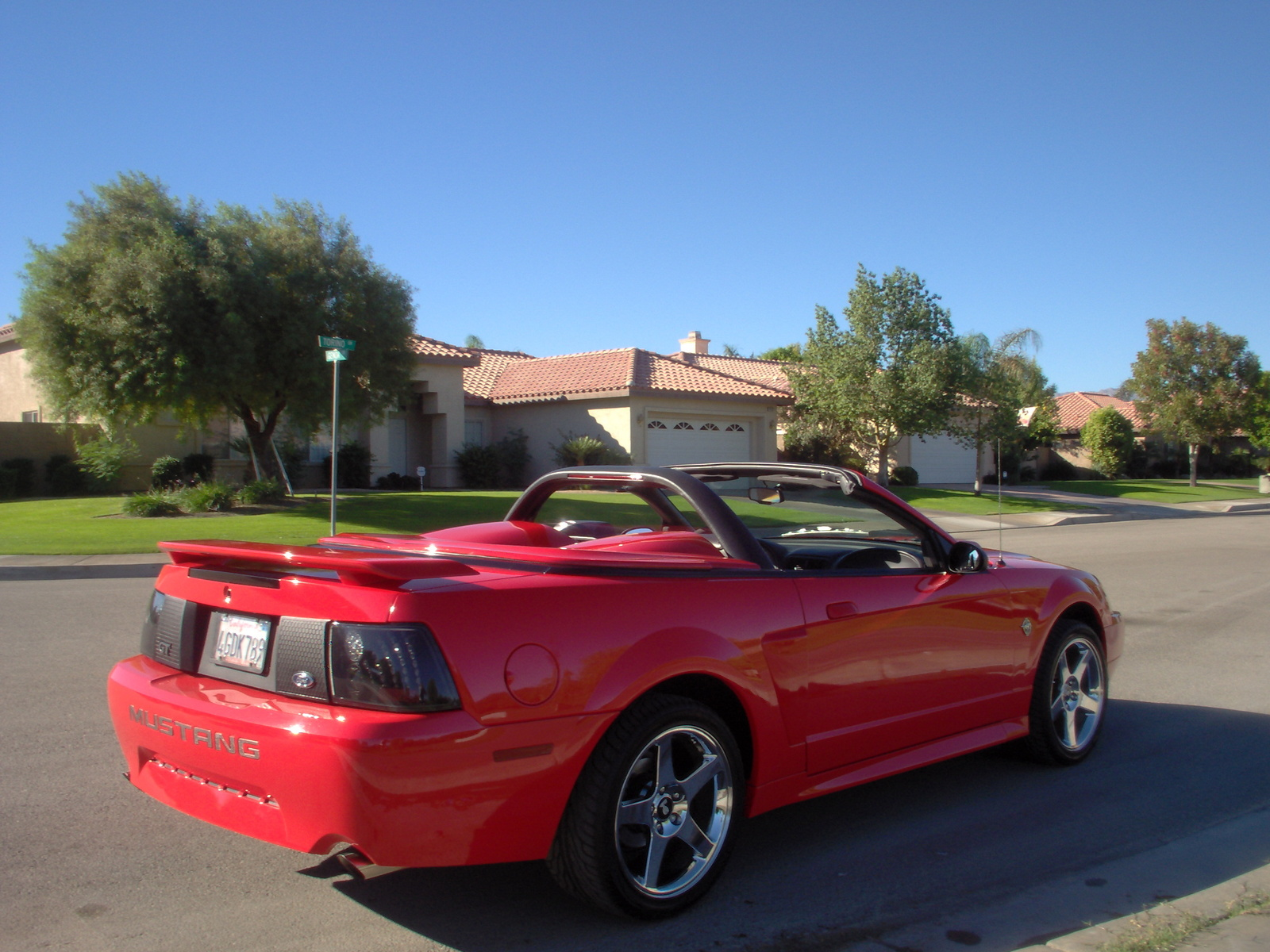 picture of 1999 ford mustang gt convertible exterior. Black Bedroom Furniture Sets. Home Design Ideas