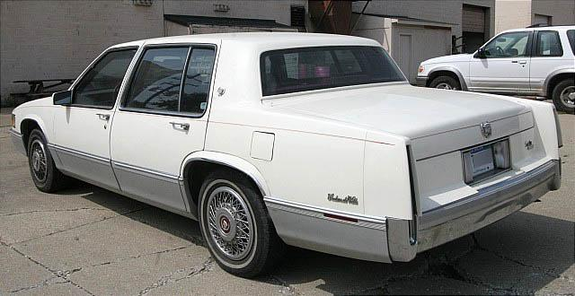 Picture of 1989 Cadillac DeVille
