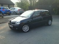 2003 Renault Clio, New wheels for The Ninja, exterior
