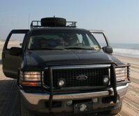 2002 Ford Excursion Limited, Beast on the beach:), exterior
