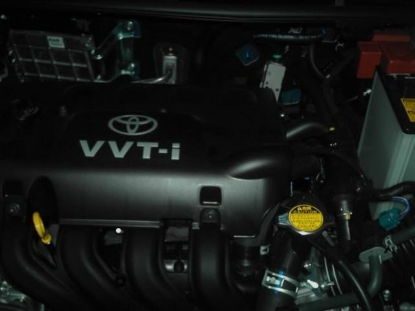 Picture of 2008 Toyota Yaris 2dr Hatchback, engine
