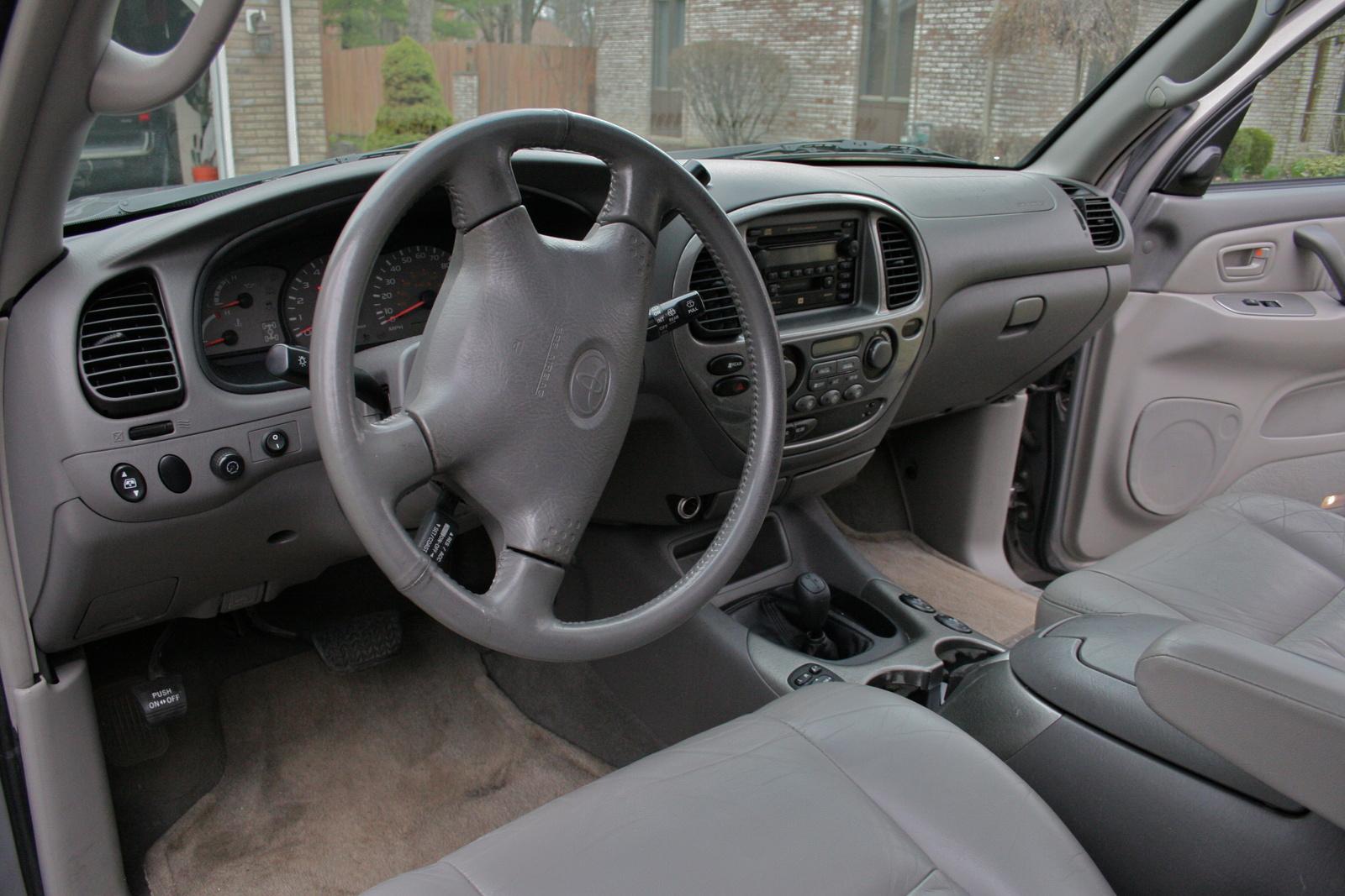 2002 Toyota Sequoia Interior Pictures Cargurus
