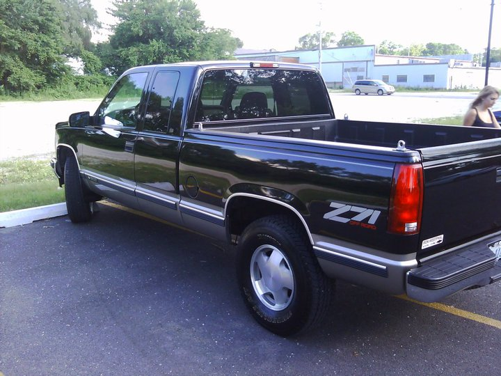 Chevrolet C K Ext Cab Ft Bed Wd Pic on 2001 Dodge Dakota Extended Cab Shell